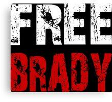Free Brady Tom Brady Canvas Print