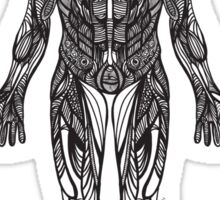 human body Sticker