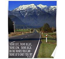 Think Left, Think Right. Poster