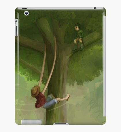 Monkey D. Luffy and Gon Freecss iPad Case/Skin