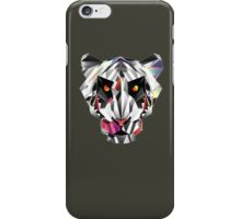 abstract panther iPhone Case/Skin