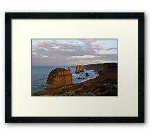 12 Apostles Dawn HDR Framed Print
