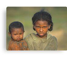 Malagasy Children Canvas Print