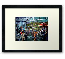 The Townsville Cup Framed Print