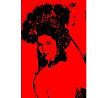 Cancan Bride... Photographic Print