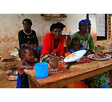 Street Vendors - Democratic Republic of Congo Photographic Print