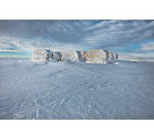 Alberta Hay Bales Photographic Print