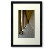 Palace of Legion of Honor Framed Print