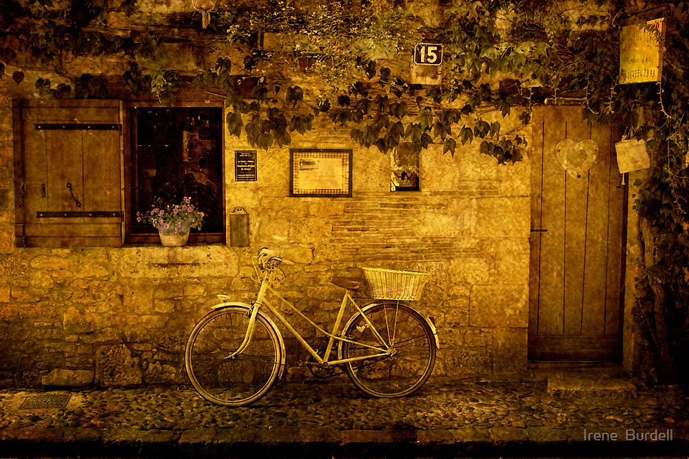 La Bicyclette ! by Irene  Burdell