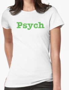 Psych Shop  Womens Fitted T-Shirt