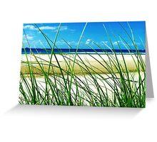 Sea & Seagrass - Byron Bay, NSW, Australia Greeting Card