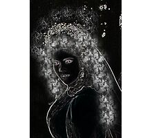 Midnight Bride... Photographic Print