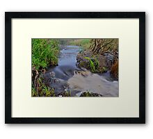 Apsley River.  24-1-11. Framed Print
