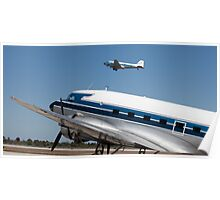 DC-3s Poster