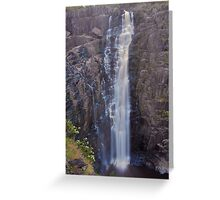 Apsley Falls    24-1-11. Greeting Card