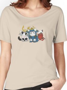 Faster, Pizzacats! Kill! Women's Relaxed Fit T-Shirt