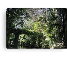 """Jungle"" - Disneyland CA Canvas Print"