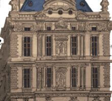 Le Palais du Louvre Sticker