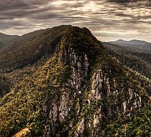 Leven Canyon Panorama ~ HDR by Brock Goodall