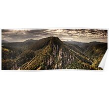 Leven Canyon Panorama ~ HDR Poster