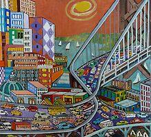 Bay Bridge by Sally Sargent
