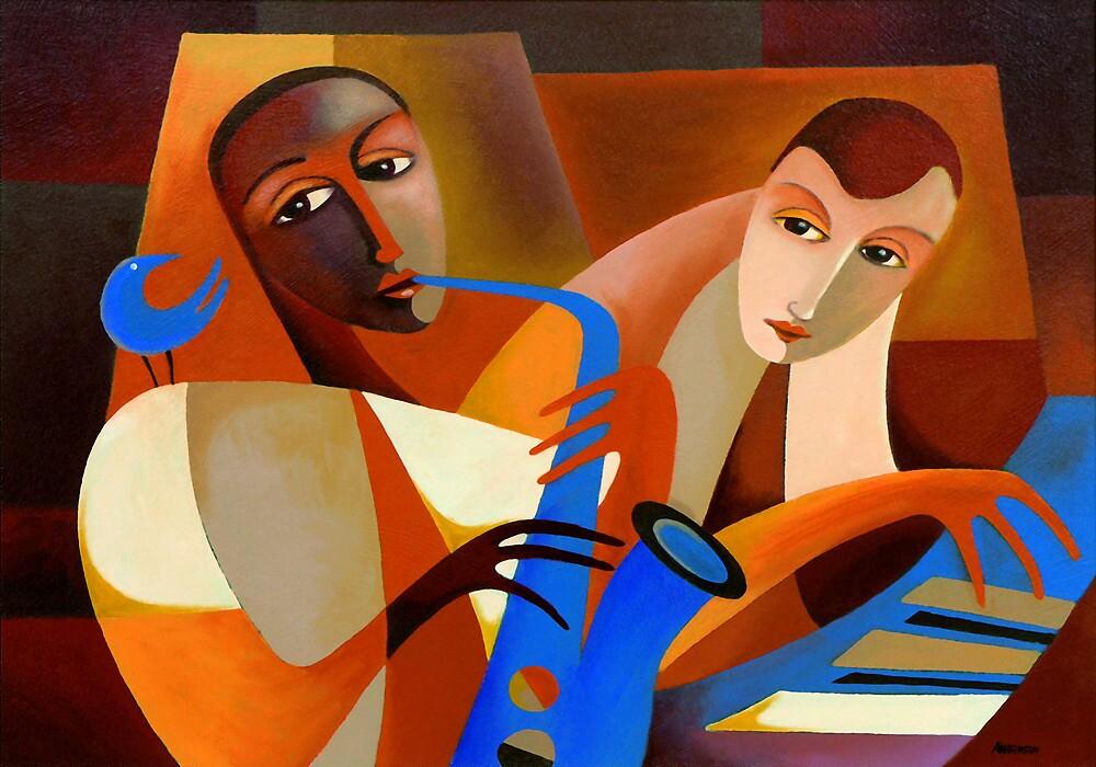 ORNITHOLOGY - CHARLIE PARKER WITH DODO MARMAROSA 1946 by Thomas Andersen