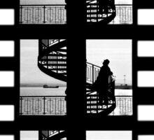 Old Movie Style Sticker