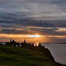 Dunluce Sunset by Michael Jordan