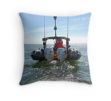 LSV RIB - The Business End Throw Pillow