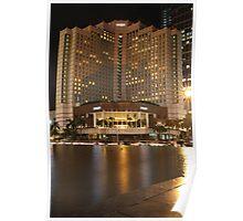 Hyatt Hotel, Jakarta (by night) Poster