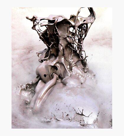 mud fountain Photographic Print