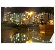 Hotel Indonesia - Kempinski (by night) Poster