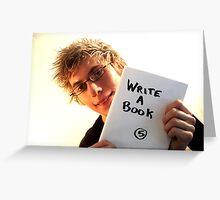 Write a Book Greeting Card