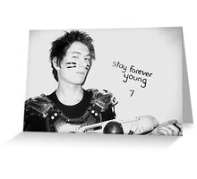 Stay Forever Young Greeting Card