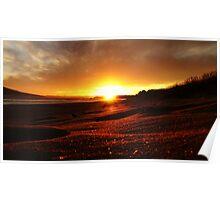 Sunset of Summer Days Poster