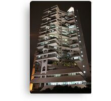 Intiland Tower (by night) Canvas Print