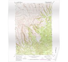 USGS Topo Map Oregon Summerfield Ridge 281689 1969 24000 Poster