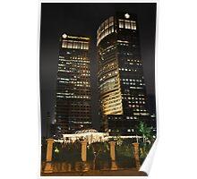 Sampoerna Strategic Square (by night) Poster