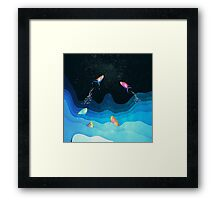 Come to reach the stars Framed Print