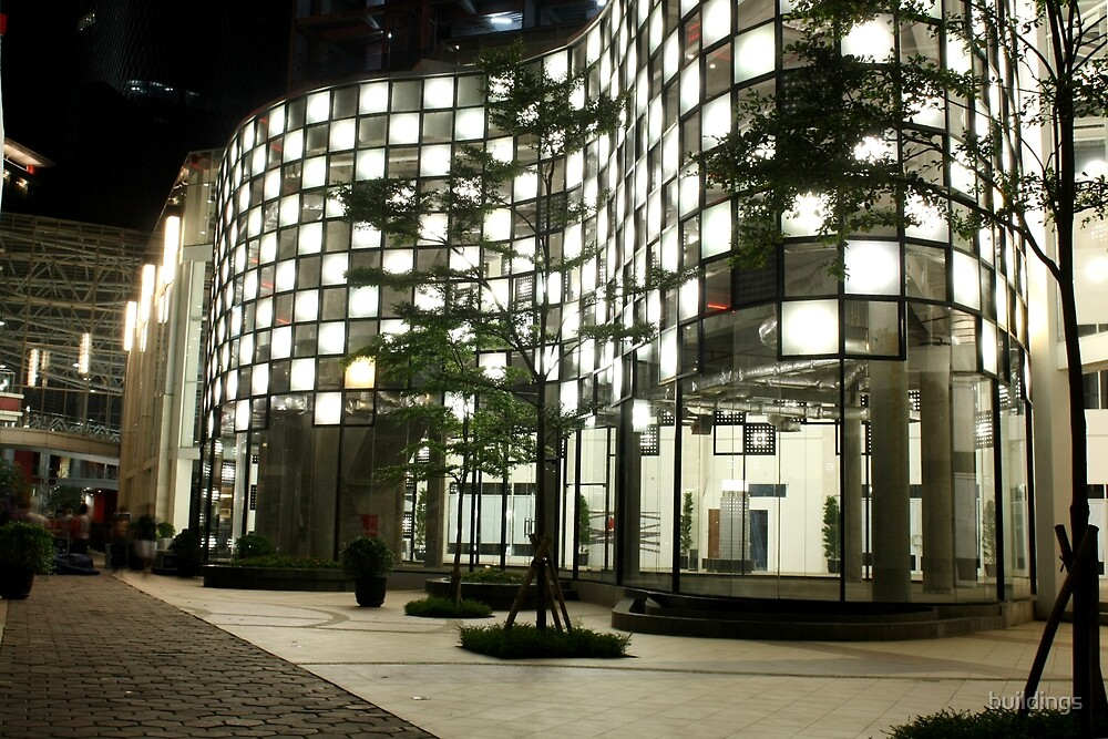 The Epicentrum Walk (by night) by Property & Construction Photography