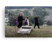 Kelly and Matts Wedding Canvas Print
