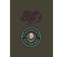 Biff's Auto Detailing Photographic Print