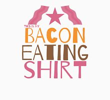 This is my BACON eating shirt Womens Fitted T-Shirt