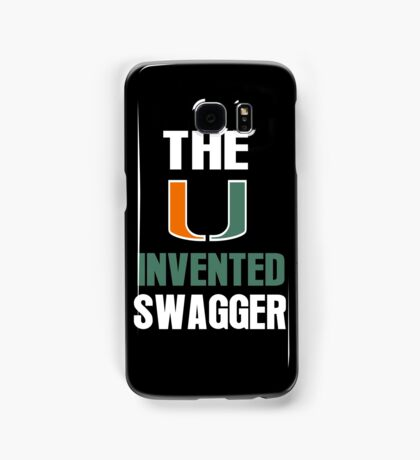 The U Invented Swagger Miami Canes Samsung Galaxy Case/Skin