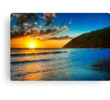 Etty Bay Rising - Etty Bay, North Queensland Canvas Print