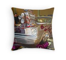 SILVER BULLET Throw Pillow