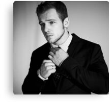 max thieriot Canvas Print
