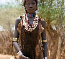 YOUNG HAMER WOMAN by Nicholas Perry