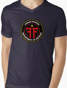 Fringe Division Colour Mens V-Neck T-Shirt