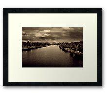 Barwon River - Geelong Victoria Framed Print